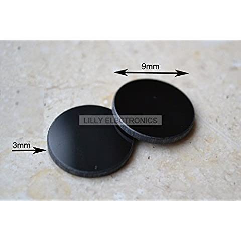 400–750Nm Filtro para lente 9mm para permitir IR Laser sólo