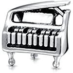Bling Jewelry Sterlingsilber Charm Grand Piano