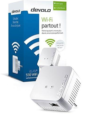 Devolo 1200 Wifi - Devolo - dLAN 550 WiFi Prise Réseau