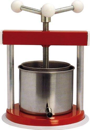 Torchietto torchio premitutto piccolo tommy 24x24x35 cm in acciaio per alimenti