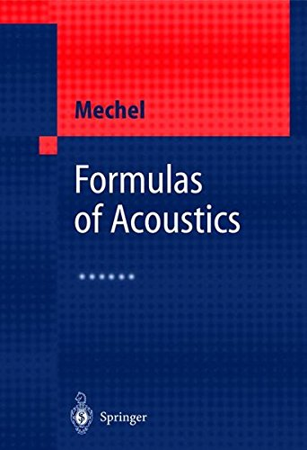 Formulas of Acoustics