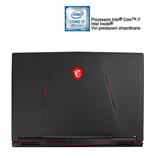 MSI GL73 8SE-012IT Notebook Gaming, 17.3' FHD,...