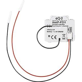 Homematic IP 153489A0 Unterputz - 1-Fach Kontakt-Schnittstelle, 3 V