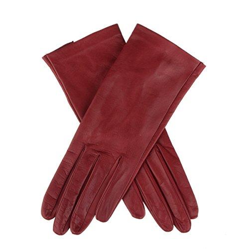 Lundorf Linea, guantes de cuero para mujer con...