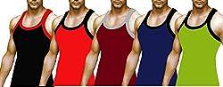1ly Cargos Mens Gym vest 5 pcs pack