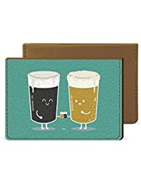 Beer Couple Credit Card Wallet By Robobull
