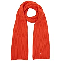 Tommy Hilfiger Pima Cotton Scarf herensjaal - rood - One size