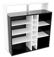 Meuble bar 7 niches Billy Le meuble bar pianoBilly se compose de 7 niches pour vos verres, vaisselle... et 7 emplacements au format 'bouteille'. Ce meuble design est bien pratique comme table de cuisineou comme bar design. Ce meuble de barest réal...