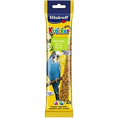 Vitakraft Budgie Kracker Bird Food Egg-Grass Seeds, Pack of 7 from Vitakraft