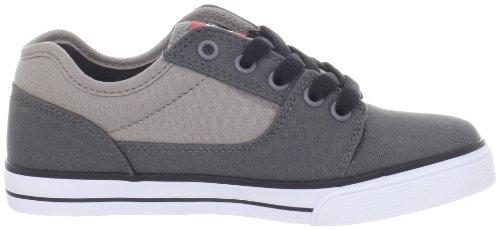 DCS - Bristol Cnvas, Scarpe da skateboard da unisex adulto (Grey/White)