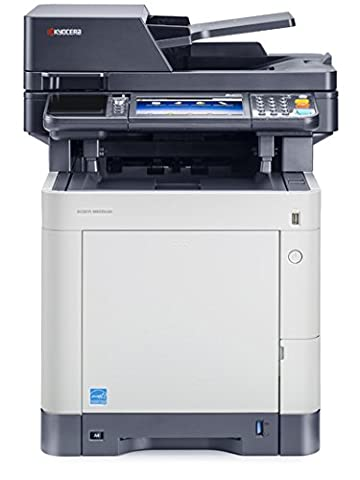 Kyocera Ecosys M6035cidn Farblaser-Multifunktionsgerät (Drucker,Scanner,Kopierer, 600 x 600 dpi, USB 2.0,
