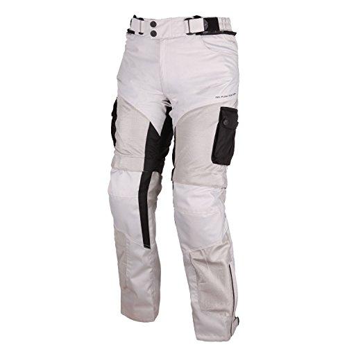 #Modeka MESH 2 EVO Textilhose – hellgrau Größe XL#