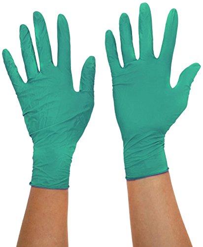 Polyco fng100–6,5Finite PF Nitril Handschuh, Größe 6,5, Grün (2Stück)