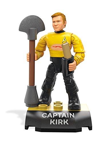 Mega Construx - Heroes Series 1 - FND66 - Star Trek: The Next Generation Captain Kirk Figure