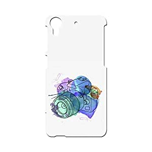 BLUEDIO Designer Printed Back case cover for HTC Desire 728 - G0270