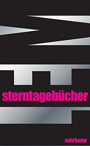 Sterntagebücher (suhrkamp taschenbuch)