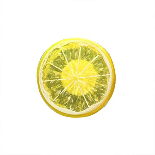 bismarckber Lovely Limone Deodorante per Auto Vent Clip Auto diffusore di fragranza Profumo Clip Decorazione, Acrilico, Yellow, Taglia U