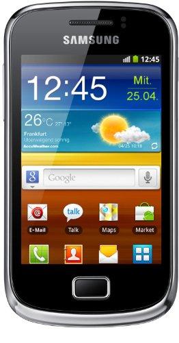 Samsung Mobile Samsung Galaxy mini 2 S6500 Smartphone (8,31 cm (3,27 Zoll) TFT-Touchscreen, 3 Megapixel Kamera, Android 2.3) yellow