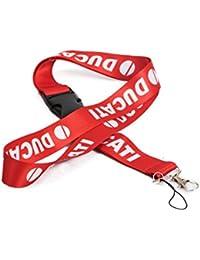 Techpro Fabric Locking ID Tag ID Card Holder With Ducati Design