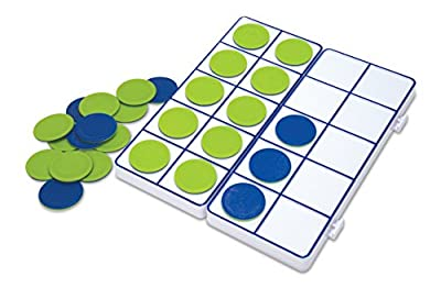 Learning Resources Connecting Ten-Frame Trays from Learning Resources Ltd
