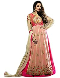 Anasha Fashions Bollywood Designer Latest Fashion Georgette Embroidered Party Wear Gown Style Salwar Suit