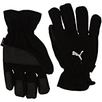 Puma Winter Players Guantes, Sin género, Black/White, 10