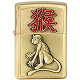 Zippo 2.004.786Year of the Monkey 2016, le laiton brossé, Briquet, 5,5x 3,50x 1,5cm