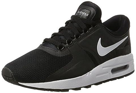 Nike Air Max Zero Essential Gs, Sneakers Basses Mixte Enfant, Noir (Black/White-Dark Grey), 38 EU