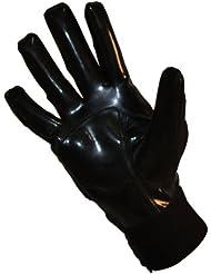 Barnett - Guantes para fútbol americano, color negro, color - negro, tamaño extra-large