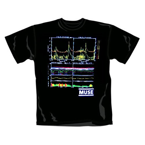 Muse - T-Shirt Flux (in M)