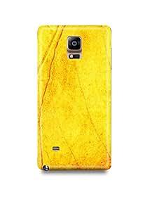 Samsung Note 4 Cover,Samsung Note 4 Case,Samsung Note 4 Back Cover,Leaf Texture Samsung Note 4 Mobile Cover By The Shopmetro-23154