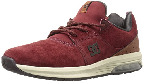 DC Heathrow IA Se Chaussures de Skate Pour Hommes Burgundy