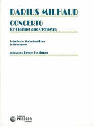 Milhaud: Concerto Op.230 (Clarinet & Piano)