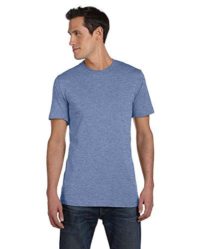 Unisex Jersey Short-Sleeve T-Shirt HEATHER BLUE XL -