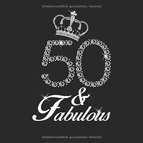 50 & Fabulous Gästebuch: Fünfzigster 50. Geburtstag 1969 Geboren Feierlichkeiten Andenken Meilenstein Notizblock Gästebuch Für Besucher Familie ... Kommentare Beratung Und Beste Wünsche