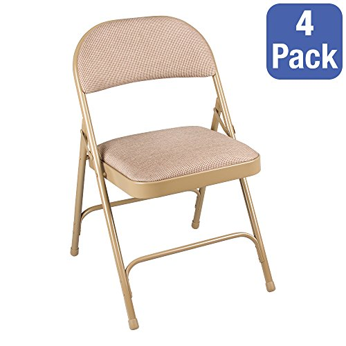 Awesome Norwood Commercial Furniture Nor Sro593 Fbg So 6600 Series Folding Chair With Fabric Upholstered Seat Beige Pack Of 4 Onthecornerstone Fun Painted Chair Ideas Images Onthecornerstoneorg
