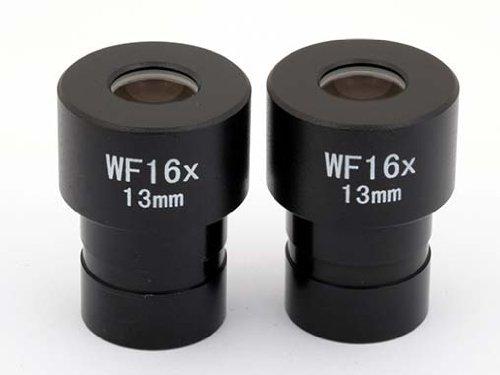 TS-Optics Weitfeld Okularset (2 Stück) für binokulare Mikroskope Einsteckdurchmesser 23mm - Vergrößerung bis 1600x, 2 x TSWF16M