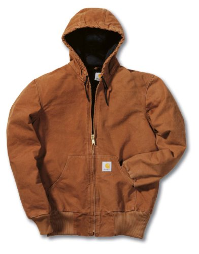 Carhartt EJ130 Sandstone Active Jacket Jacke Kapuzenjacke braun Carhartt Sandstone Active Jacket