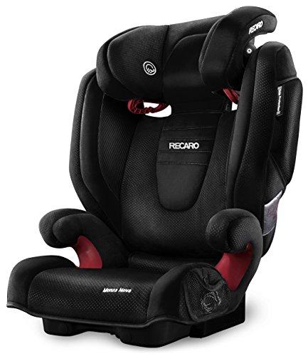 Recaro Monza Nova 2 - Silla de coche para bebe, grupo 2/3, color Negro