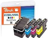 Peach Tintenpatrone schwarz XXL, kompatibel zu Brother LC-129XL