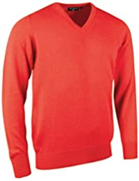 Glenmuir Herren GMHS703 100% Kaschmir Golf Pullover mit V-Ausschnitt 5676b6f2dd