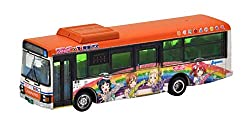 The Bus Collection Basukore Tokai Bus Orange Shuttle Love Live! Sunshine !! Wrapping Bus Car 2 Diorama Supplies (Manufacturer Initial Order Limited Edition)