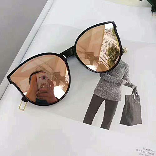 QJKai Gezeiten-Sonnenbrille der blauen polarisierten Sonnenbrille weiblichen Mode große