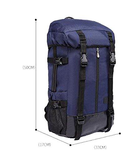 TUOZA Mens Im Freienatmungs Rucksack Multifunktions Blue