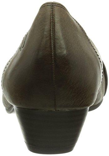 Caprice Virginia-1-1 (9-9-22301-23 008), Chaussures à talons - Avant du pieds couvert femme Beige - Beige (342 TAUPE NUBUC)