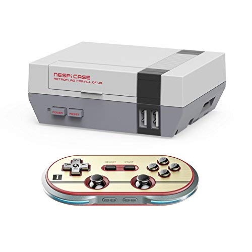 Yikeshu Game-Controller Ersatz für 8Bitdo-Controller, Funktioniert mit Nintendo Switch Retro Nespi Hülle (SF30) (Retro Nintendo Controller)