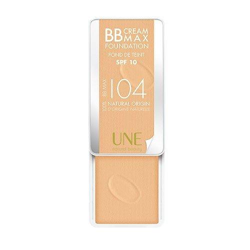 UNE Natural Beauty BB Cream Max Foundation SPF 10 I04