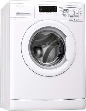 Bauknecht WA PLUS 634 Waschmaschine Frontlader / A+++ / 4 Jahre Herstellergarantie / 1400 UpM / 6 kg / Startzeitvorwahl / 15 Minuten Programm / Farbprogramme / weiß