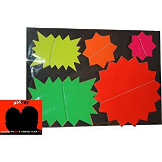 Fluorescent Stars Pack For Carboot and Markets
