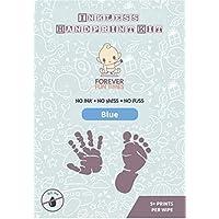 und Fu/ßabdruck Set mit 4 20,6 x 14 cm Rahmenformat Papierb/ögen Detaillierte Abdr/ücke ohne Sauerei Tintenloses Baby-Abdruckset mit 1 speziellen Wischt/üchern von Forever Fun Times Baby Hand